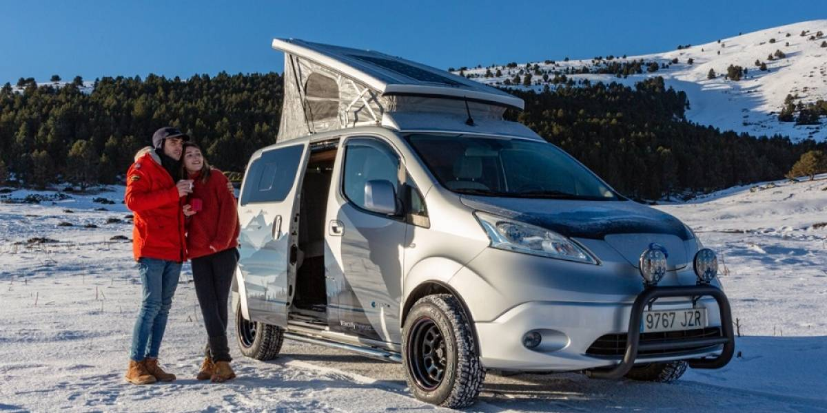 Nissan Winter Camper Concept, la van de aventura invernal con paneles solares