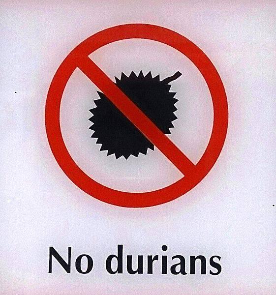 Fruta prohibida: durian