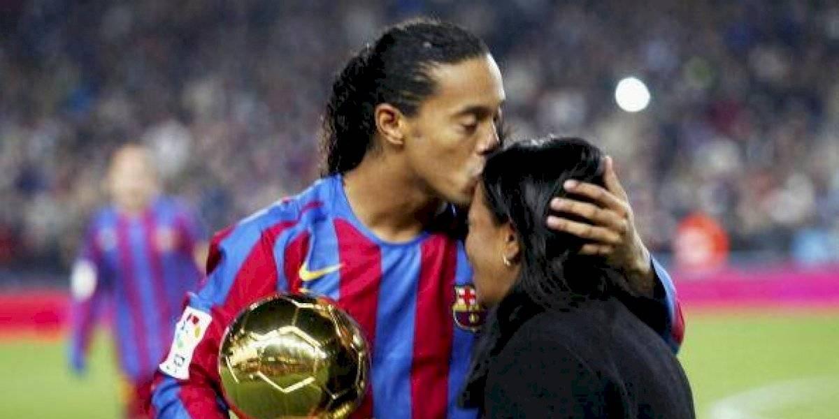 Ronaldinho rompe el silencio tras la muerte de su madre