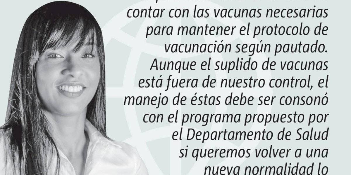 Opinión de Sol Higgins: Certeza en la vacunación de nuestra gente