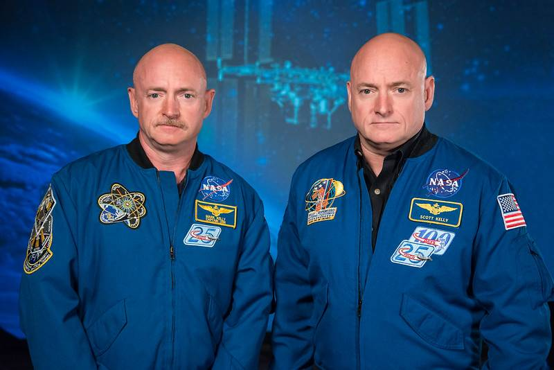 Mark y Scott Kelly
