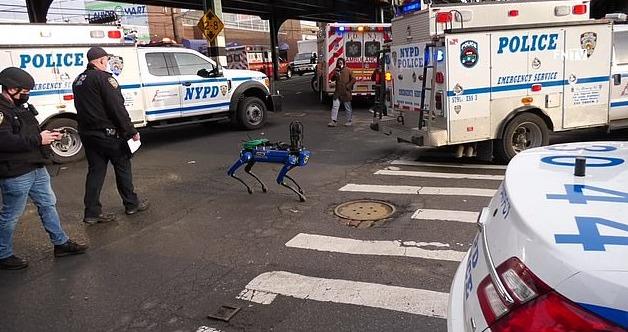Digidog, el perro robot de la Policía de Nueva York.