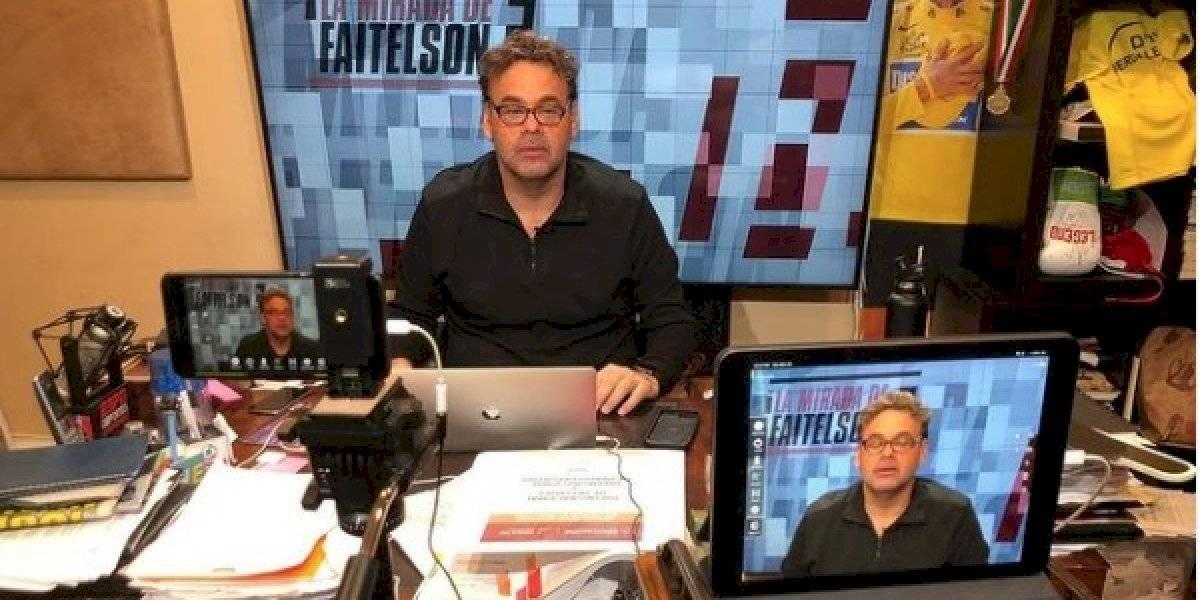 Apodan a David Faitelson #LordDeudor por echarse para atrás en una apuesta