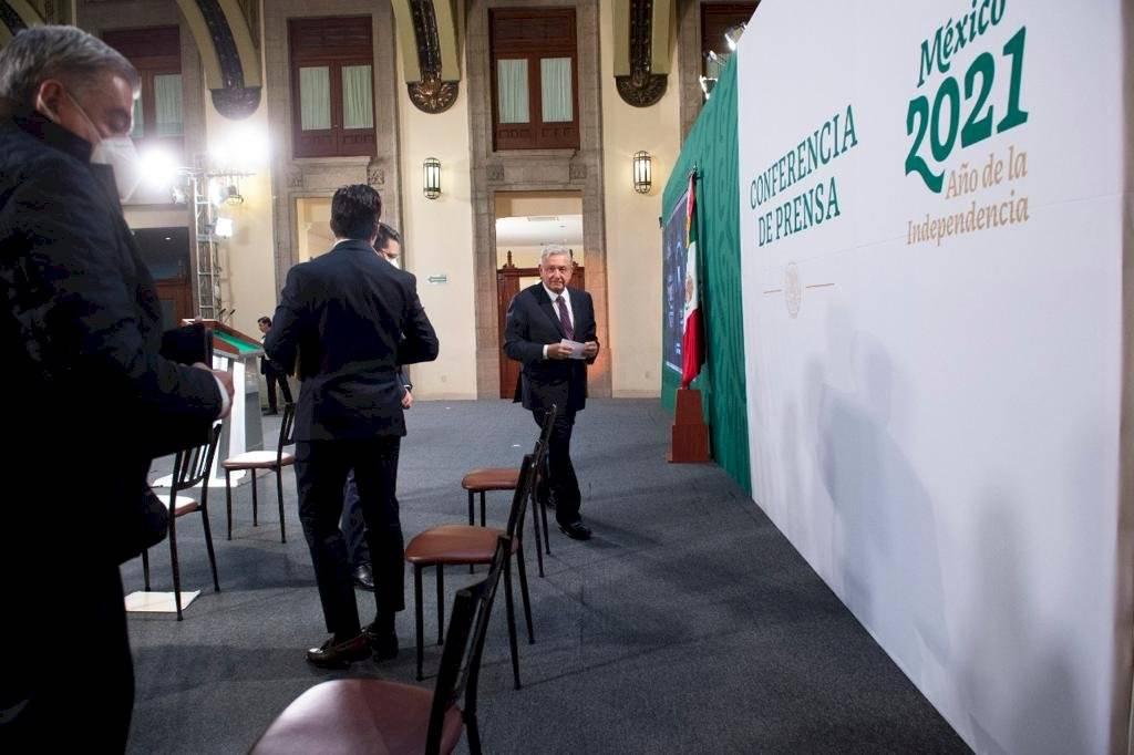 El presidente regresó a las conferencias mañaneras el 8 de febrero