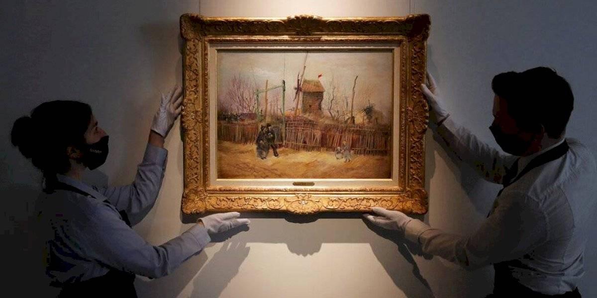 Exponen al público rara pintura de Van Gogh por primera vez