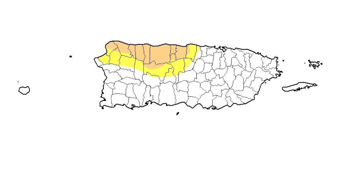 Reportan aumento en el nivel de sequía en Puerto Rico