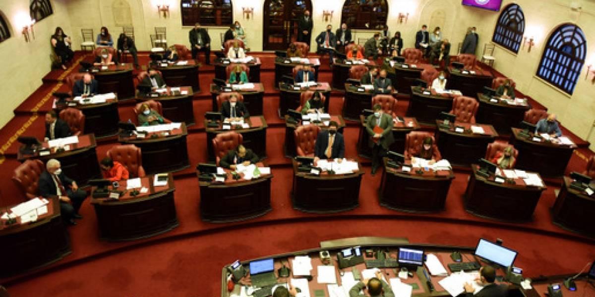 Senado recesa labores administrativas por casos positivos de COVID