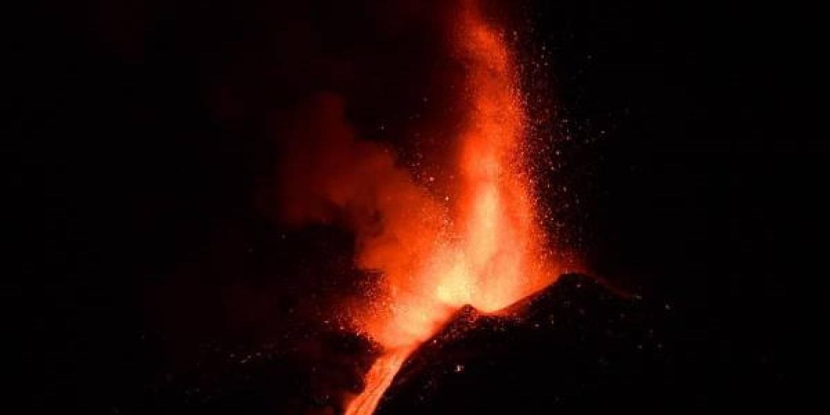 Videos: sexta erupción del volcán Etna en ocho días