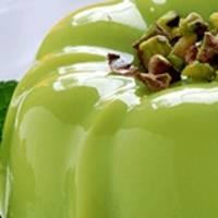 Receta: Sabroso flan de pistacho