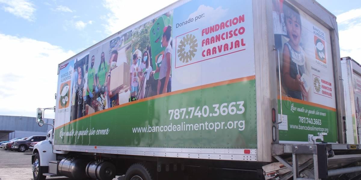 Donan camión refrigerado para distribución de comida al Banco de Alimentos