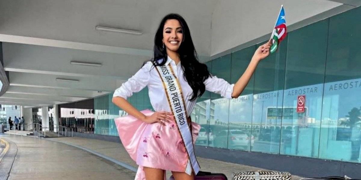 Fabiola Valentín necesita el apoyo de los boricuas rumbo a Miss Grand International 2020