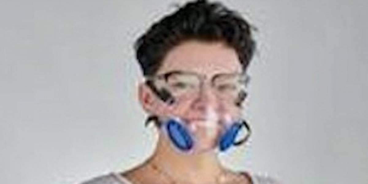 Desarrollan mascarilla especial para personas audio impedidas en México