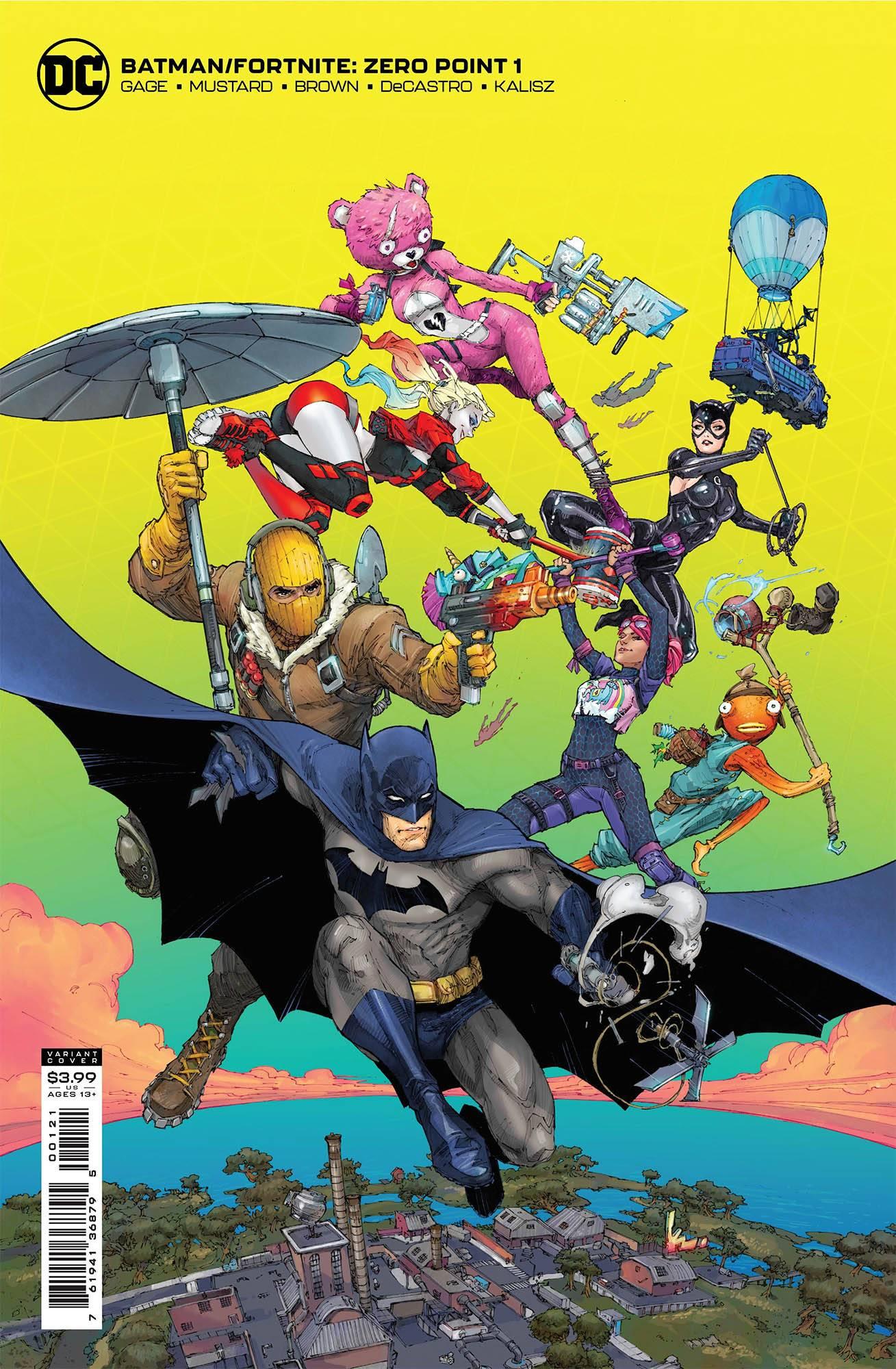 Fortnite Batman crossover cómic