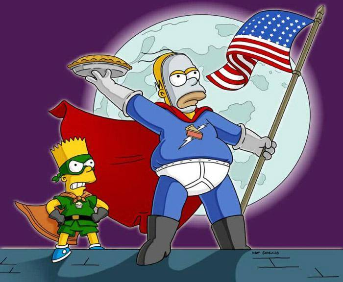 Los Simpson Homero muerte