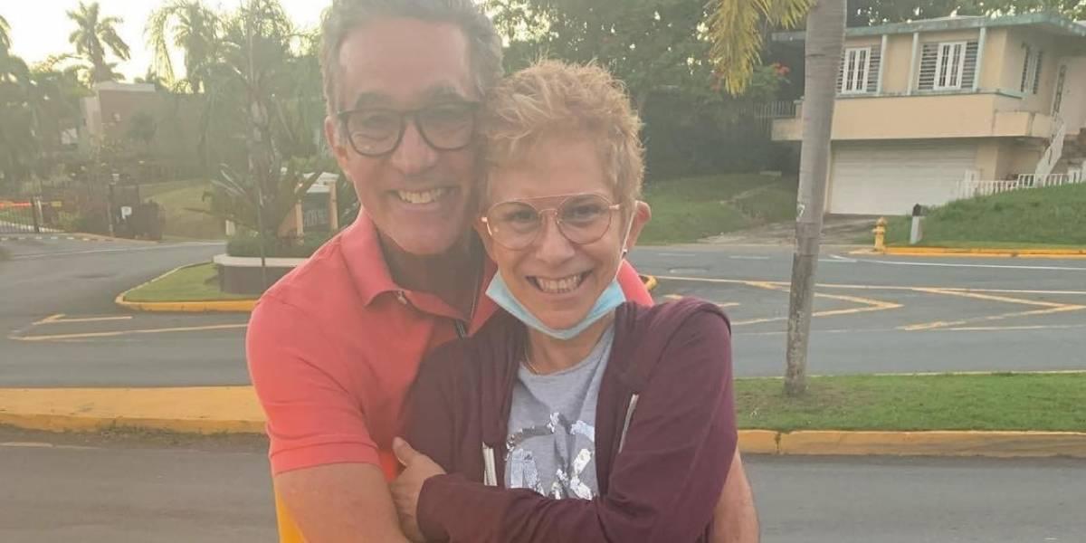 Marisol Calero y Braulio Castillo hijo se reencuentran