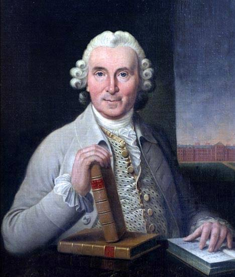 James Lind, pintura por Sir George Chalmers
