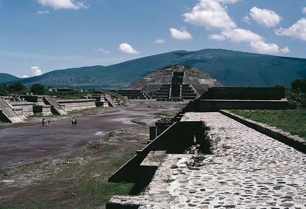 Pirámide de Teotihuacán.