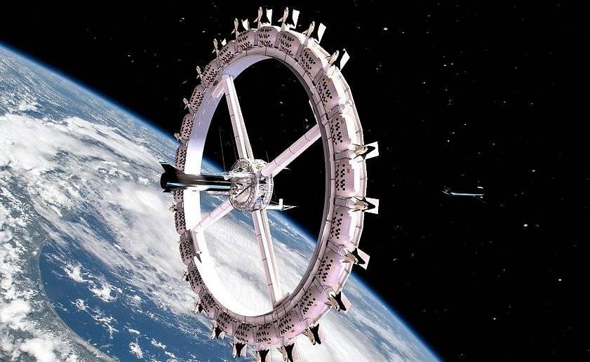 Estación Voyager, un hotel en la órbita terrestre.