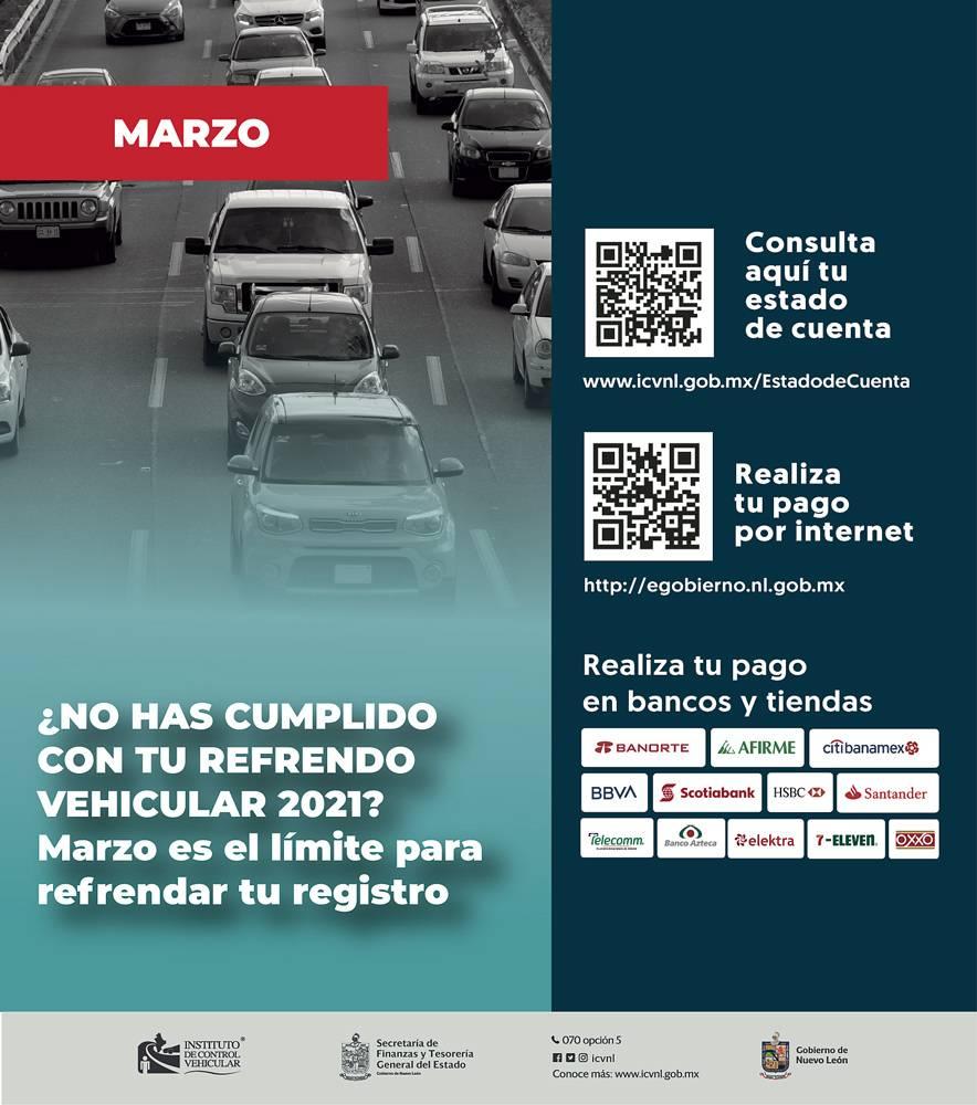 Anuncio Gobierno de Nuevo León edición Monterrey del 3 de Marzo del 2021, Página 7