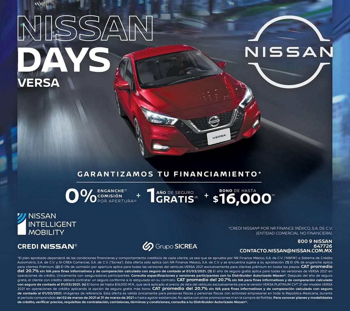 Anuncio Nissan edición CDMX del 3 de Marzo del 2021, Página 5