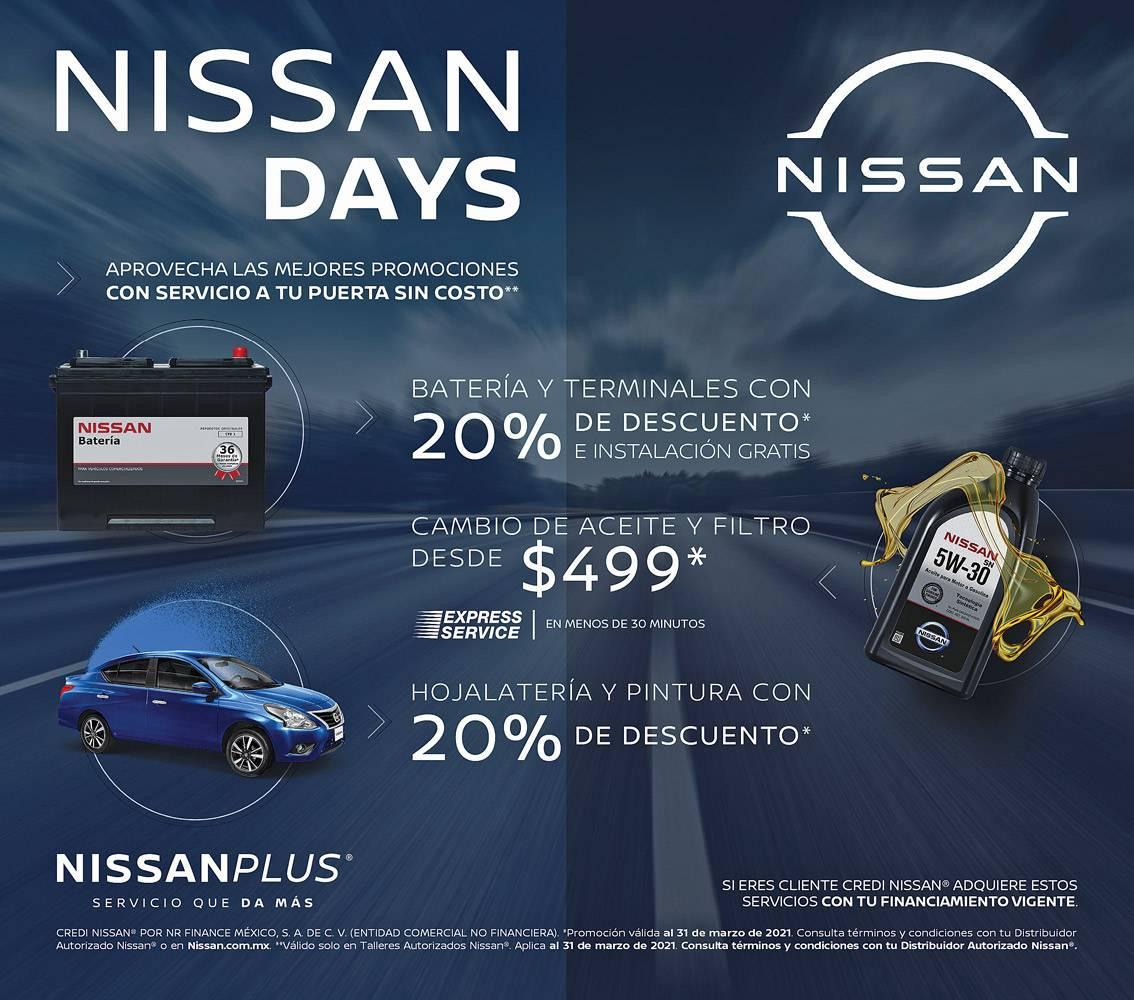 Anuncio Nissan edición CDMX del 3 de Marzo del 2021, Página 11