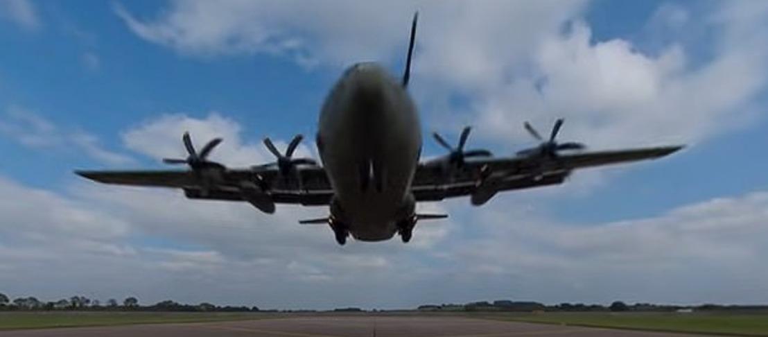 Video 360° de la RAF