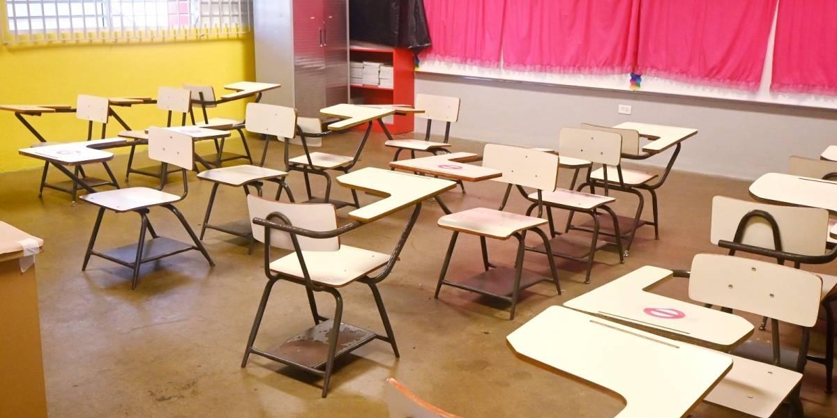 Gobierno considera extender el semestre en las escuelas públicas