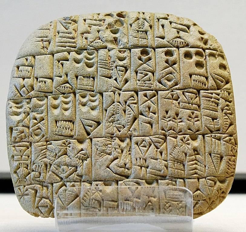 Escritura cuneiforme