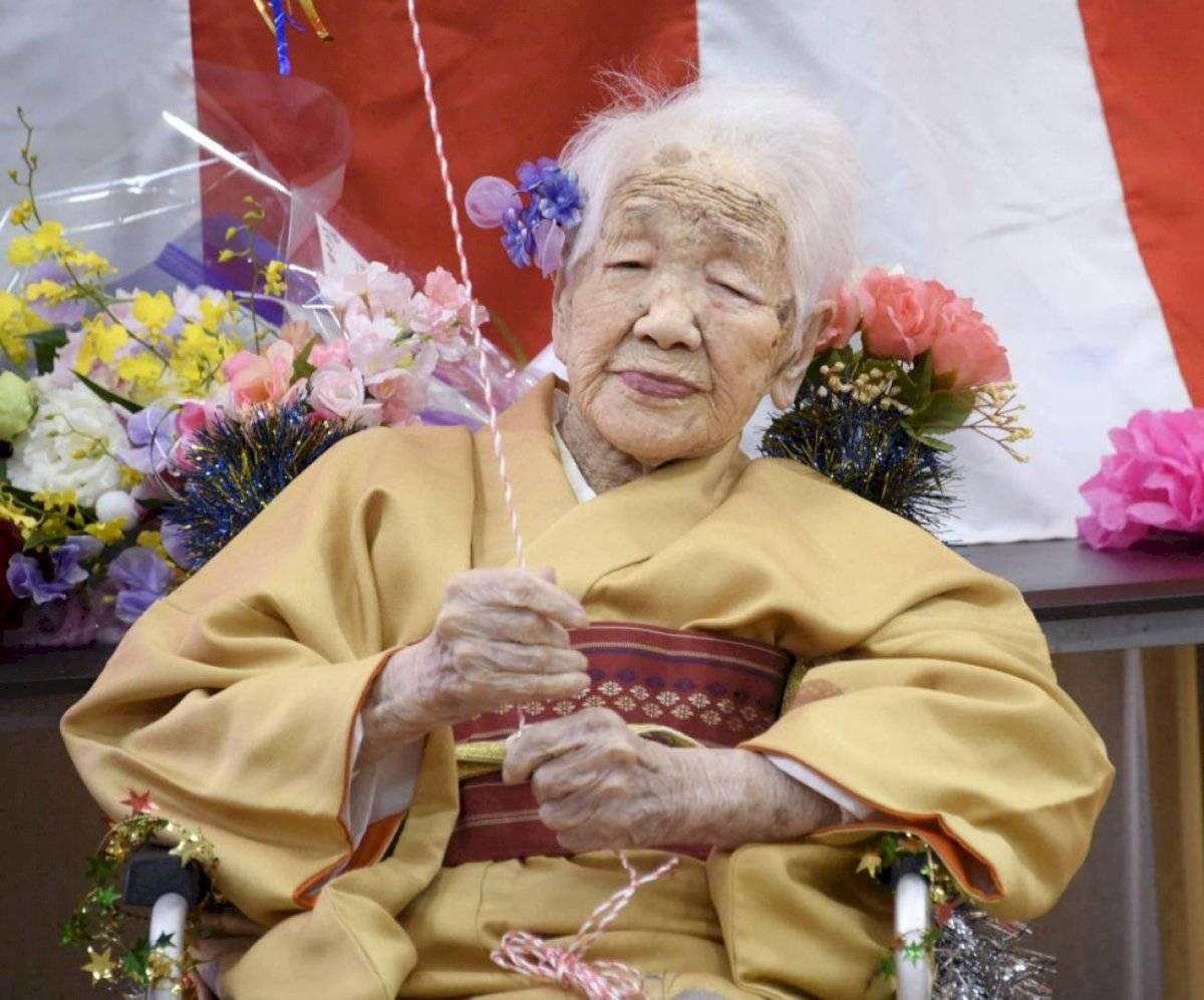 Kane Tanaka de 118 años.