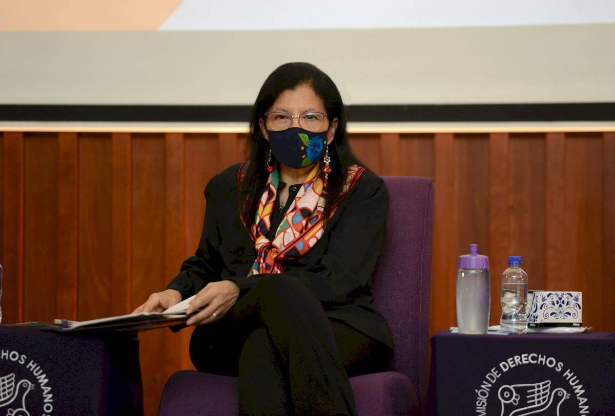 Nashieli Ramírez, presidenta de la CDH CDMX.
