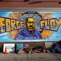 Protestan previo a juicio por muerte de George Floyd
