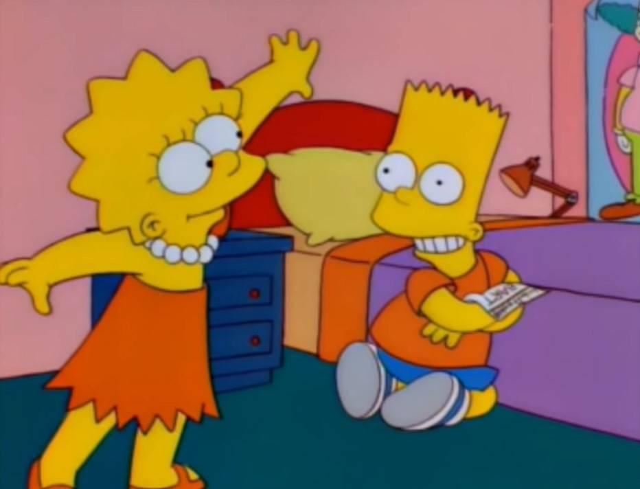 Los Simpson Alma de Bart