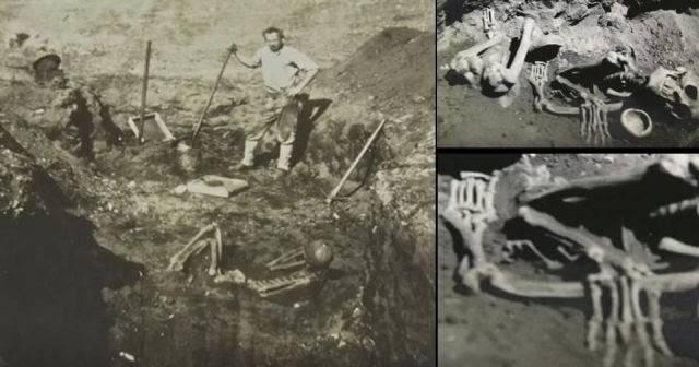 El esqueleto más grande se halló, presuntamente, en Catalina Island.