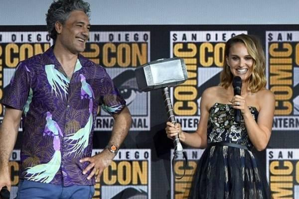 Primeras imágenes de Natalie Portman como Jane Foster en el rodaje de 'Thor:  Love and Thunder' | Publimetro México