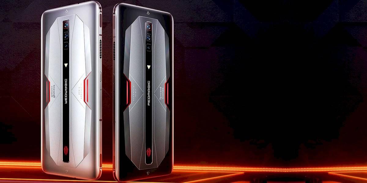 En China comenzaron a circular los primeros celulares con 18 GB de memoria RAM, este es el Nubia RedMagic 6 Tencent Edition.