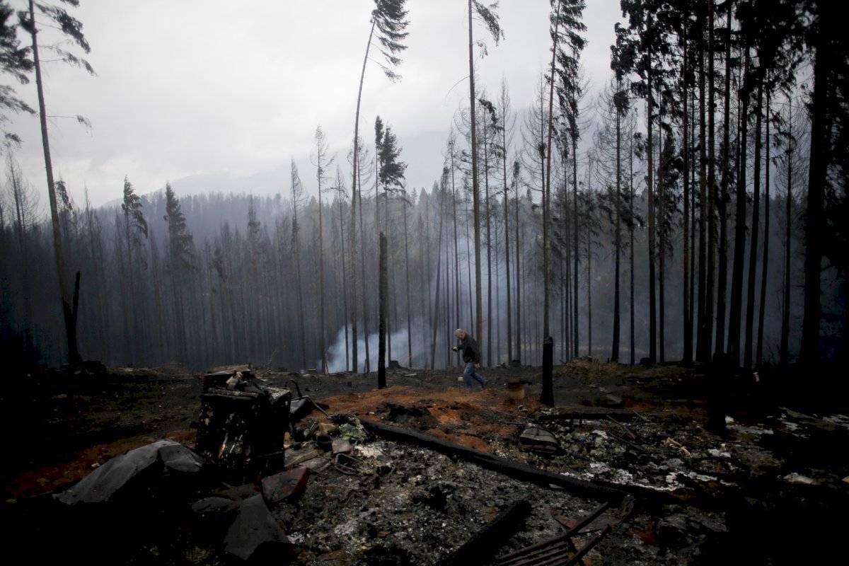 Incendios en la Patagonia argentina causan evacuados y heridos - AP