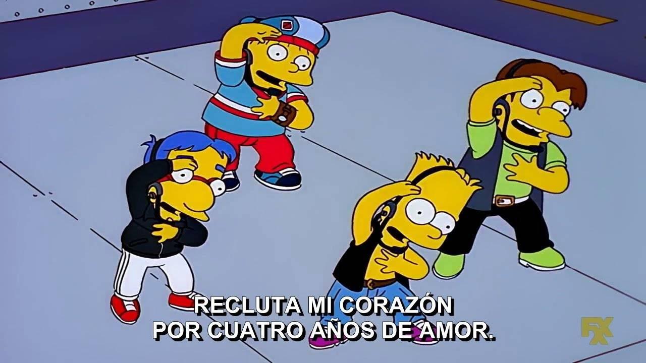 Los Simpson BTS