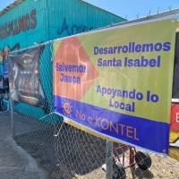 Comunidad en Santa Isabel se une en contra de construcción de hotel