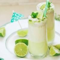 Limonada con leche condensada