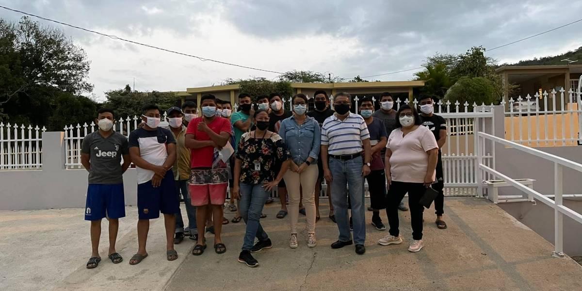 Llegan mexicanos a trabajar en fincas de la Isla ante falta de mano de obra