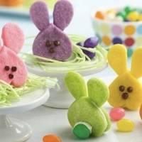 Cómo hacer galletas en forma de conejo para los niños