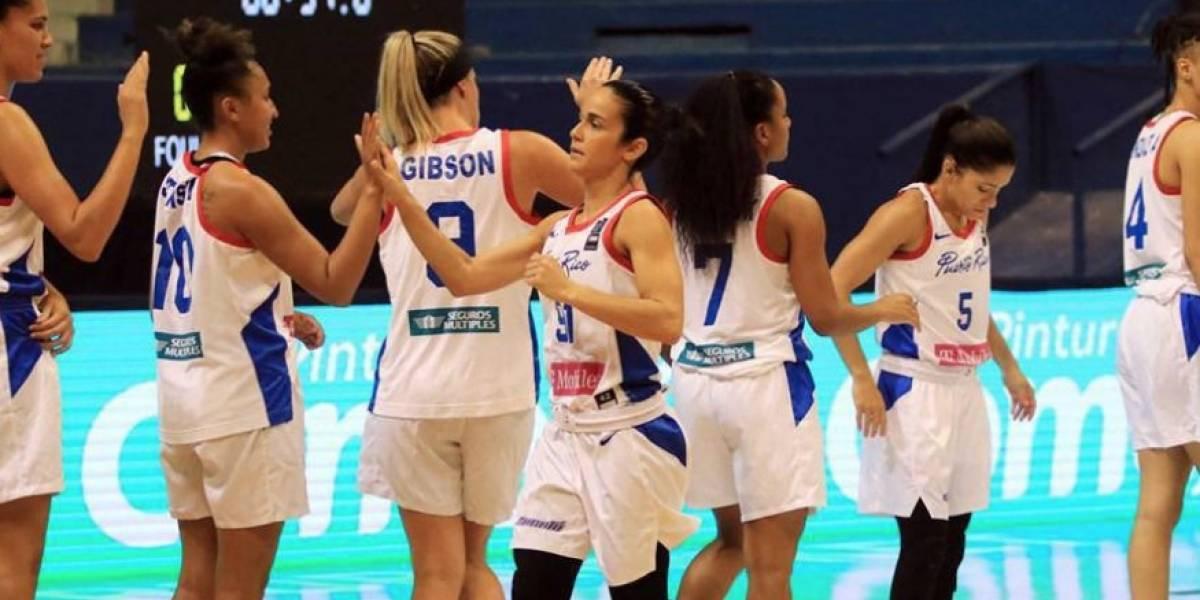 Selección Nacional femenina logra medalla de oro en el Centrobasket 2021