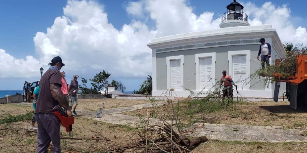 Rehabilitan Faro de Vieques