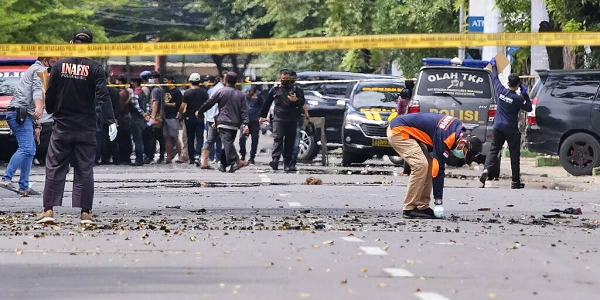 14 heridos en ataque suicida en una catedral indonesia