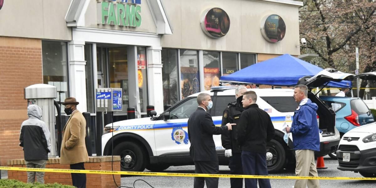 Dos muertos y un herido por tiroteo en tienda de Maryland