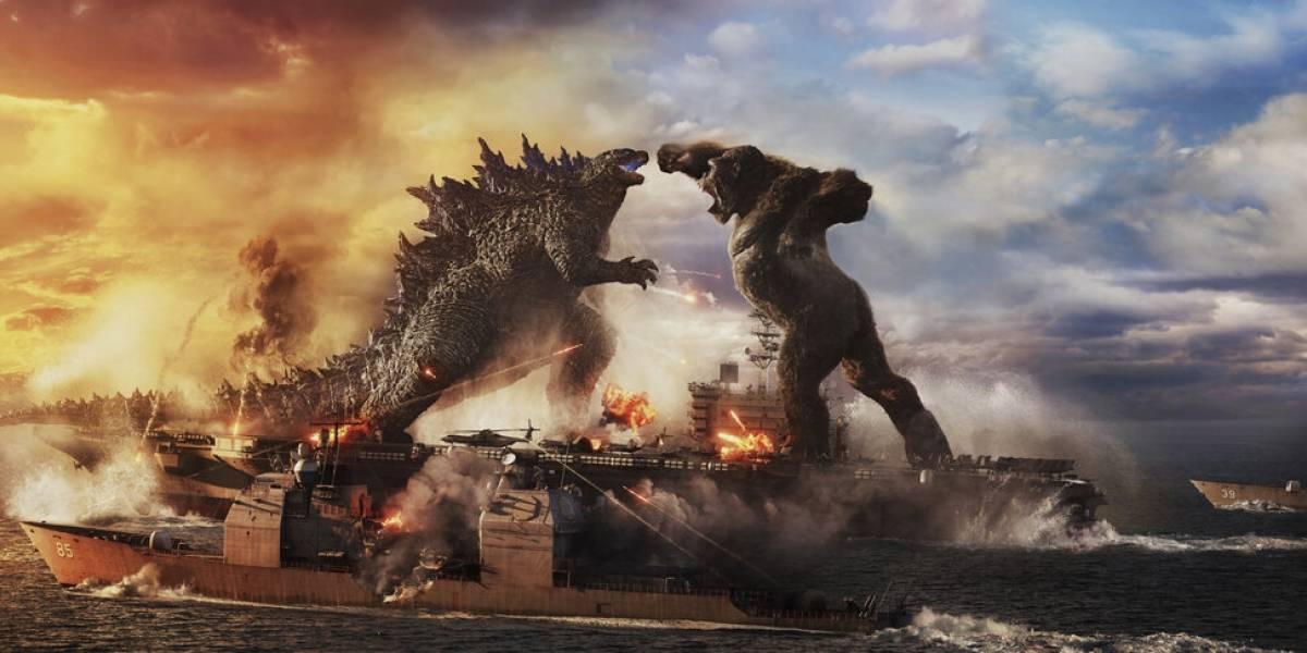 'Godzilla vs. Kong' acapara la taquilla en Estados Unidos