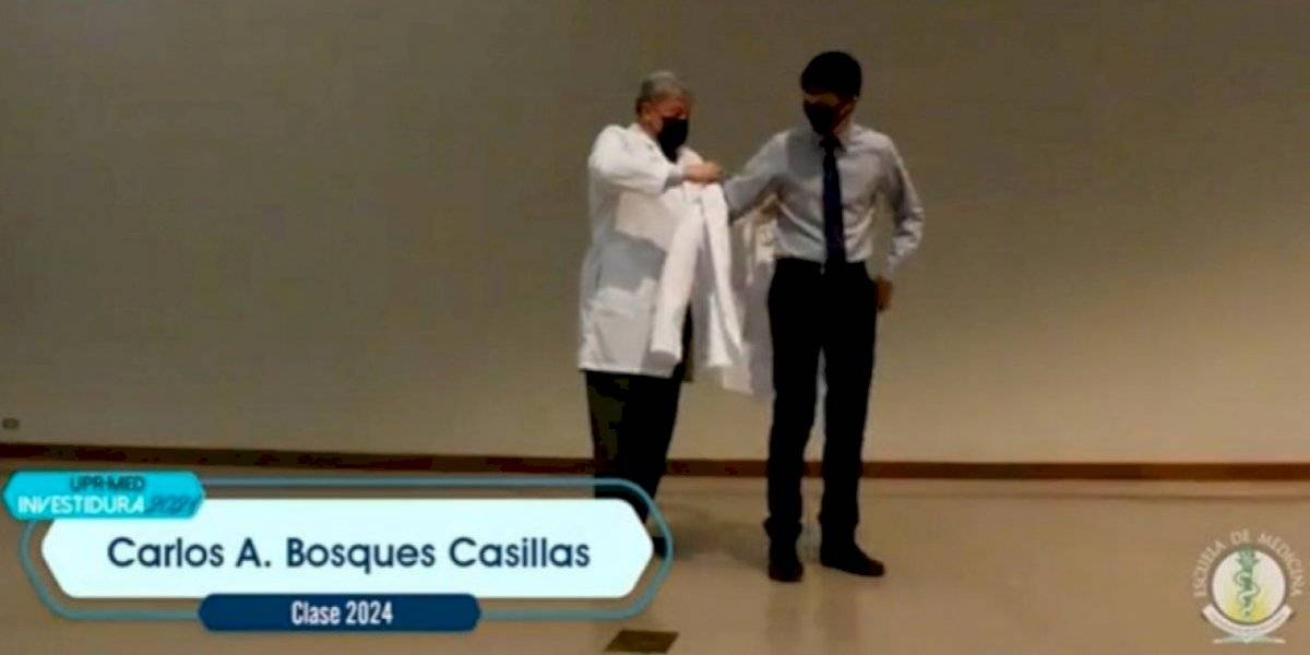 Celebran su investidura 109 futuros médicos en la Escuela de Medicina de la UPR