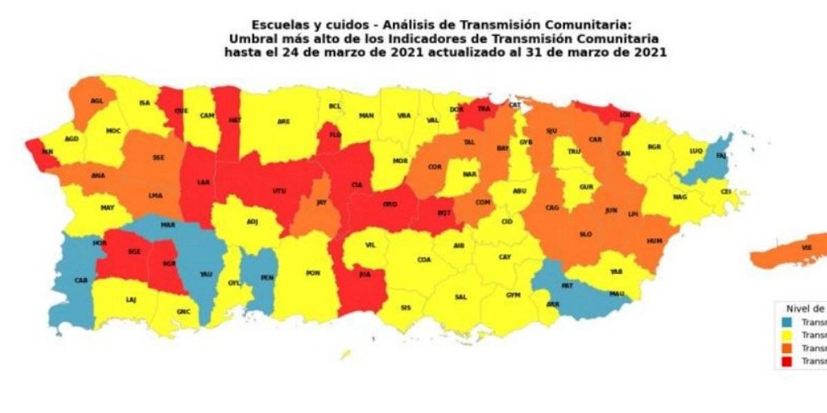 Salud aumenta a 14 los municipios con alta transmisión de COVID-19