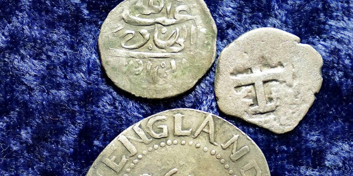 Monedas antiguas resolverían misterio sobre célebre pirata