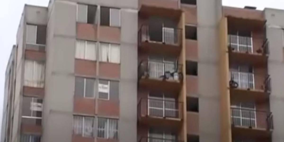 Niña de dos años cayó de un 10 piso de edificio en Bogotá